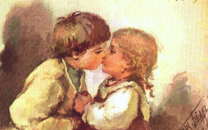 Особенности национального поцелуя