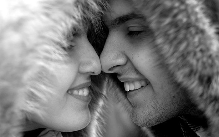Происхождение поцелуя