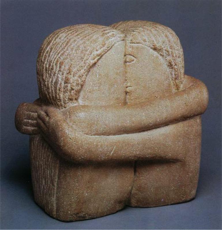 Скульптуры «Поцелуй», «Ворота поцелуя»
