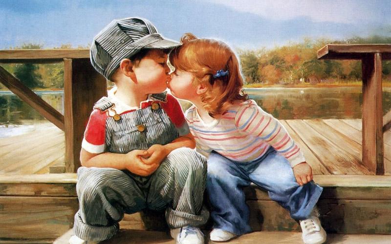 Афоризмы про поцелуи