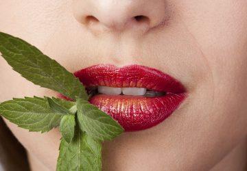 Как освежить дыхание для поцелуя