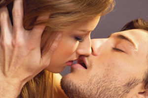 Поцелуй влюблённых