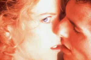 Поцелуй из фильма «С широко закрытыми глазами»