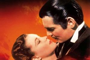 Поцелуй из фильма «Унесенные ветром»
