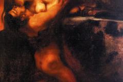 Франц фон Штюк «Поцелуй Сфинкса»