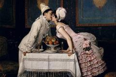 Auguste Toulmouche «Le baiser»