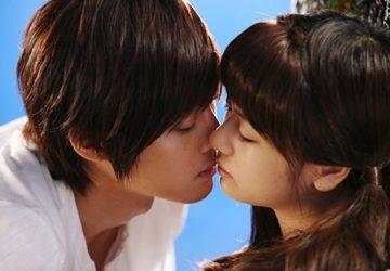Поцелуй в Японии