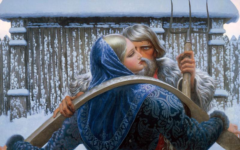 Русский поцелуй